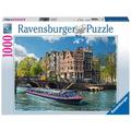 Ravensburger Premiumpuzzle im Standardformat - Grachtenfahrt in Amsterdam