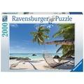 Ravensburger Premiumpuzzle im Standardformat - Hängematte am Strand