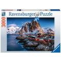 Ravensburger Premiumpuzzle im Standardformat - Hamnoy, Lofoten
