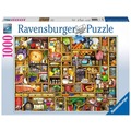Ravensburger Premiumpuzzle im Standardformat - Kurioses Küchenregal