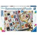 Ravensburger Premiumpuzzle im Standardformat - Meine liebsten Briefmarken