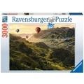 Ravensburger Premiumpuzzle im Standardformat - Reisterrassen in Asien