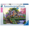 Ravensburger Premiumpuzzle im Standardformat - Romantisches Cottage