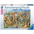 Ravensburger Premiumpuzzle im Standardformat - Sehenswürdigkeiten weltweit
