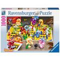 Ravensburger Premiumpuzzle im Standardformat - Spieleabend bei den Gelini