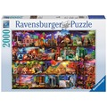 Ravensburger Premiumpuzzle im Standardformat - Welt der Bücher