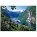Ravensburger Premiumpuzzle im Standardformat - Norwegischer Fjord