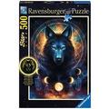 Ravensburger Star Line – Leuchtpuzzle - Leuchtender Wolf