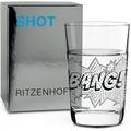 Ritzenhoff Schnapsglas von sieger design Sterne, Schrift 40 ml