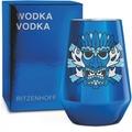 Ritzenhoff Vodkaglas von Oliver Hartmann Schrift, Maske 300 ml