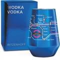 Ritzenhoff Vodkaglas von Oliver Hartmann Metrokarte 300 ml
