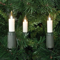 Rotpfeil Lichterkette 15-tlg. LED Schaftlampe E14, warm-weiss