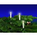 Rotpfeil Lichterkette mit 10 Kerzen, L:4,5m - innen Toplampen, 50cm Abstand