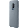 Samsung Alcantara Cover, Galaxy S9+, Mint-Grau