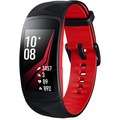 Samsung Gear Fit2 Pro (SM-R365) - Schwarz-Rot (Gr.L)