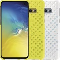 Samsung Pattern Cover Galaxy S10e, white/yellow