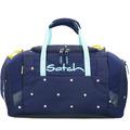satch Duffle Bag Sporttasche 44 cm blau-peach gepunktet pretty confetti