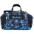 satch Duffle Bag Sporttasche 44 cm dreiecke blau blue triangle