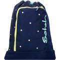 satch Gym Bag Sportbeutel 44 cm blau-peach gepunktet pretty confetti