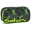 satch Mäppchen Schlampermäppchen 22 cm off road schwarz, grün, neon