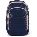 satch match Schulrucksack 45 cm Laptopfach dark blue rose white