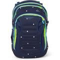satch match Schulrucksack 45 cm Laptopfach pretty confetti blau, gelb, pfirsisch