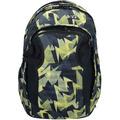 satch match Schulrucksack 45 cm Laptopfach schwarz gelbe dreiecke gravity jungle