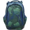 satch sleek Schulrucksack 45 cm infra green blau grün neon