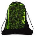 satch pack Sportbeutel 44 cm green bermuda grüne dreiecklinien