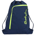 satch Sportbeutel Turnbeutel 44 cm dark blue neon yellow