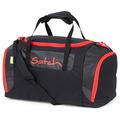 satch Sporttasche 50 cm fire phantom  schwarz, rot