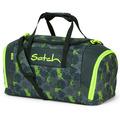 satch Sporttasche 50 cm off road schwarz, grün, neon