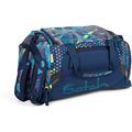 satch Pack Sporttasche 50 cm splashy lazer blau bunte streifen