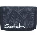 satch Wallet Geldbörse 13 cm schwarz dreiecklinien ninja bermuda