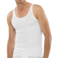 Schiesser Jacke ärmellos weiß 10