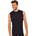 Schiesser Shirt ärmellos schwarz L