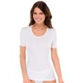 Schiesser Shirt kurzarm Cotton 95/5 weiß 36