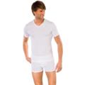 Schiesser Shirt kurzarm weiß 4, 2er Pack