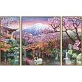 Schipper Malen nach Zahlen - Kirschblüte in Japan (Triptychon)
