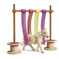 Schleich Pony Flattervorhang