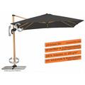 Schneider Schirme Sonnenschirm Schirm Rhodos Twist Woody 300x300 anthrazit