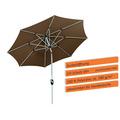 Schneider Schirme Sonnenschirm Venedig 270/8 mocca