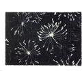 Schöner Wohnen Fußmatte Manhattan Design 001, Farbe 044 Pusteblume anthrazit-mint 67 x 100 cm
