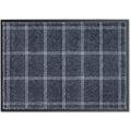Schöner Wohnen Fußmatte Miami D.005 C.027 Karo polartürkis 50x70 cm