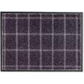 Schöner Wohnen Fußmatte Miami D.005 C.042 Karo dunkelgrau 50x70 cm