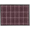 Schöner Wohnen Fußmatte Miami D.005 C.083 Karo taupe-blush 50x70 cm