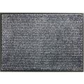 Schöner Wohnen Fußmatte Miami Design 002, Farbe 040 Punkte anthrazit-grau 67 x 100 cm