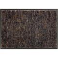 Schöner Wohnen Fußmatte Miami Design 003, Farbe 044 Gitter anthrazit-taupe 67 x 150  cm