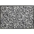 Schöner Wohnen Fußmatte Miami Design 004, Farbe 004 Mezzopoint silber 67 x 100  cm