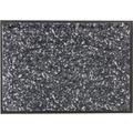 Schöner Wohnen Fußmatte Miami Design 004, Farbe 044 Mezzopoint anthrazit-grau 67 x 100  cm